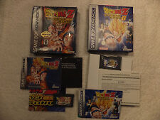 NINTENDO GAME BOY - DRAGONBALL Z THE LEGACY OF GOKU 1 & 2 (BOXED)