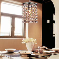Modern Crystal LED Chandelier Fixture Pendant Lamp Lighting Small Ceiling Light