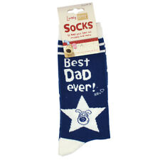Lovely Boofle Dad Socks Size 8-12 One Pair Birthday Christmas Gift Idea