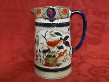 Burleigh Ware Burgess & Leigh Japonica Hot Water Jug & Lid Circa 1900