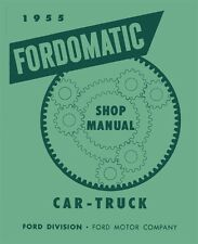 1955 Ford Car & Truck Ford-O-Matic Automatic Transmission Service Repair Book