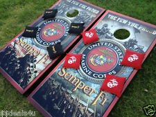 Marines SWEET Military Cornhole Game Decal Wraps