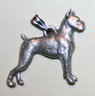 BOXER Dog Harris Fine Pewter Pendant USA Made