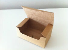 50PCS Wedding/Party Rectangle Brown Kraft Bomboniere Favour Boxes / Lolly Boxes