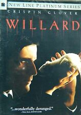 WILLARD (2003) Cripin Glover R.Lee Emery Lots of Special Features SEALED DVD