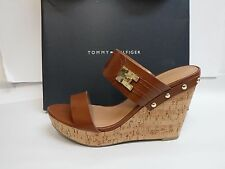 Tommy Hilfiger Size 7 Wedge Sandals Heels New Womens Shoes
