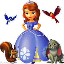 Walt Disney's - Princess SOFIA The FIRST and Animal Friends - WINDOW CLING DECAL