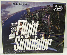 MICROSOFT FLIGHT SIMULATOR 1993 LAST MS-DOS IN THE SERIES CD JEWEL CASE+MANUAL