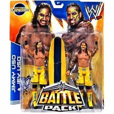 WWE JIMMY & JAY USO BATTLE PACK 28 THE USOs TAG TEAM CHAMPIONS
