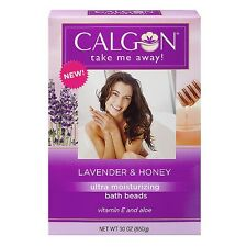 Calgon Ultra-Moisturizing Bath Beads, Lavender - Honey 30 oz