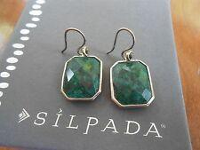 SILPADA Sterling Silver, Stabilized Quartz & Marcasite Earrings - W2946