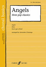 Angels Three Pop Classics Pop Choral Mixed Voices Beginner FABER Music BOOK