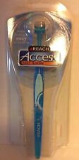 Reach Access Daily Flosser 22 Disposable Snap On Heads New Blue
