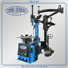 Twin Busch ® Tire changer TW X-38 with pneumatically operated tilt back column