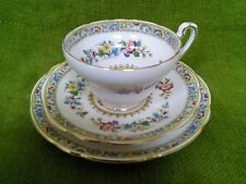 FOLEY E.Brain & Co.  'MING ROSE'  tea cups & saucers and tea plates trio