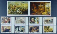 Grenada 1991 Rubens Gemälde Paintings Kunst Art 2194-01 + Block 264-265 ** MNH
