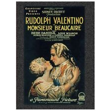 VALENTINO,RUDOLPH-MONSIEUR BEAUCAIRE (1924)  DVD NEW