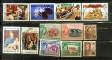 Dominica nice Stamps small  Lot  MNH/MH