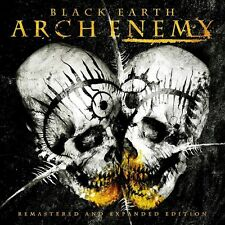 ARCH ENEMY BLACK EARTH + 3 BONUS TRACKS BRAND NEW SEALED 2 CD SET REMASTERED