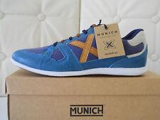Munich scarpe uomo Mercury 134 sneakers Pelle/Tessuto blu/cuoio n.44 €137,00