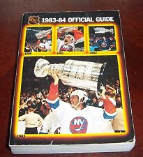 Official NHL  Guide 1983-84  New York Islanders