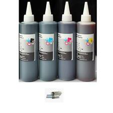 4 Bulk refill ink for EPSON inkjet printer 4 colors 4x250ml