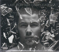 CD - Nick Jonas NEW Last year Was Complicated FAST SHIPPING !