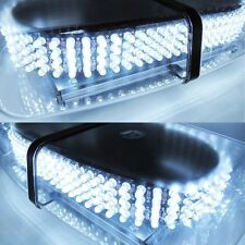 Excellent Oval 12V 240 LED Emergency Hazard Warning Mini Bar Strobe Light- White