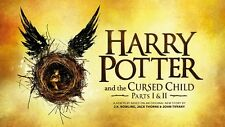 POSTER HARRY POTTER AND THE CURSED CHILD E IL BAMBINO MALEDETTO LIBRO BOOK #6
