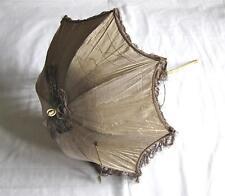 Atractivo antigua victoriana Antique Victorian Parasol Plegable De Seda