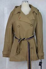 Tommy Hilfiger  size L   Hooded Short Trench Coat   NWT