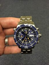 Deep Blue GMT/T-100 Valjoux 7754 Divers Watch
