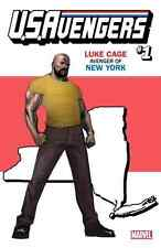 US AVENGERS 1 LUKE CAGE POWER-MAN NEW YORK STATE VARIANT NM