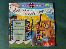 PICCOLO, SAXO & cirque JOLIBOIS - VOL 3 - 25 cm LP 04/1958 PHILIPS E 1 R 0036