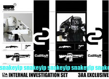 3A 3AA Ashley Wood Action Portable WWRp Caesar Internal Investigation Set 1/12