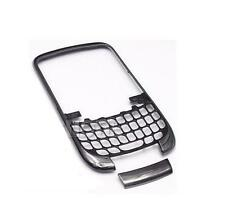 NEW OEM BLACKBERRY CURVE 3G 9300 BLACK FRONT FACEPLATE HOUSING CASE COVER
