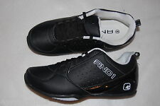 Mens Athletic Shoes BLACK Comfort Padded Sock AND1 FURY LOW Non Marking 10