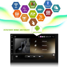 "7""Android 5.1 Quad Core Car GPS Stereo WiFi + Free Camera Bluetooth"