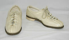 Vintage BRUNSWICK LADY REBEL Women's Split Toe Leather Bowling Shoes Size 7 1/2