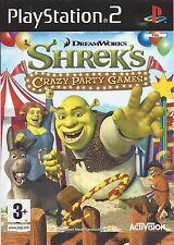 SHREK'S CRAZY PARTY GAMES (CARNIVAL CRAZE) for Playstation 2 PS2 - complete