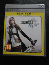 "jeu PS3 ""FINAL FANTASY XIII"""