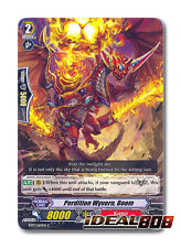 Cardfight Vanguard  x 4 Perdition Wyvern, Boom - BT17/065EN - C Mint