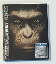 Rise of the Planet of the Apes (Blu-ray/DVD, 2011, 2-Disc Set, Includes Digital