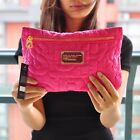 Hot Marc by Marc Jacobs nylon casual fashion rose red cosmetic bag