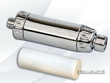 Elegant In-Line Shower Filter Chrome Finished with additional Cartridge  SL-67R