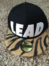 New Era Leaders Tiger Faux Fur Lid 59Fifty 7 1/8 Inches (56.8 Cm) Fitted Hat