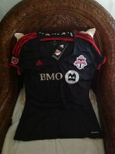 TORONTO FC  ADIDAS MLS SOCCER JERSEY NEW WITH TAGS SIZE L Womens