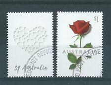 AUSTRALIA 2017 SPECIAL OCCASION LOVE STAMPS  FINE USED