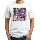 Prince RIP Album Cover Tribute T-Shirt - Men's White Discography Tee