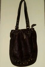 Original Diesel Vintage Finish Brown Leather Bag